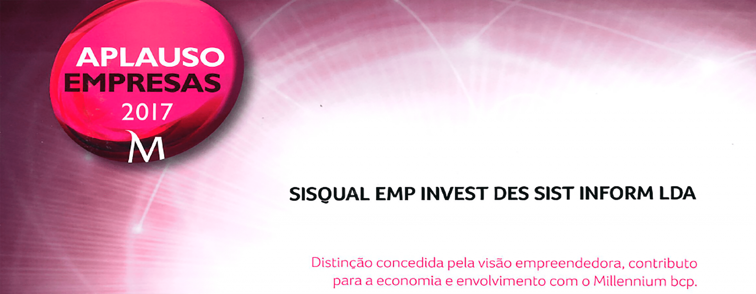 SISQUAL distinguished with the status of Aplause Company