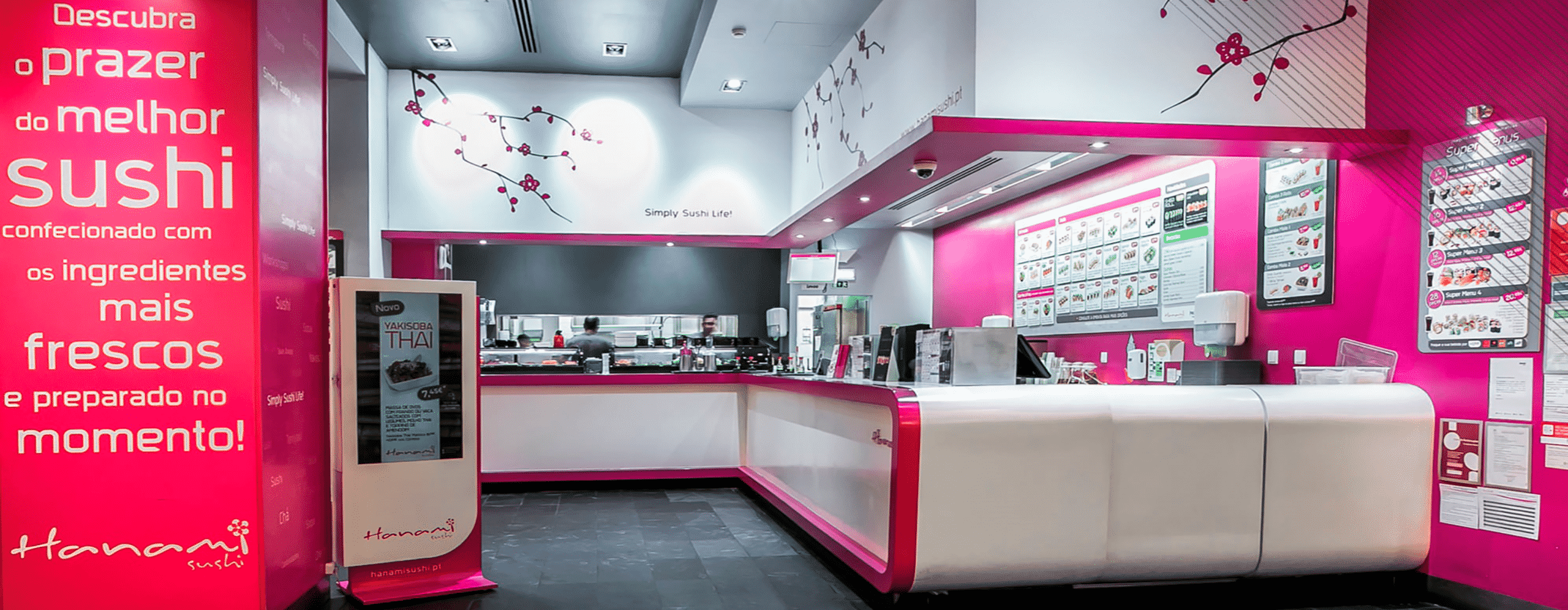 Hanami Sushi will improve service delivery to your customers